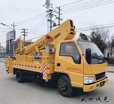 21米直臂式高空作业车