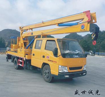 16米曲臂式高空作业车