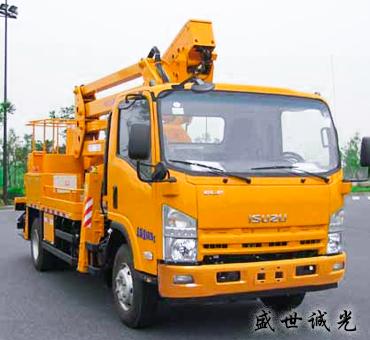 22米车载式高空作业车【HYL5090JGKC】